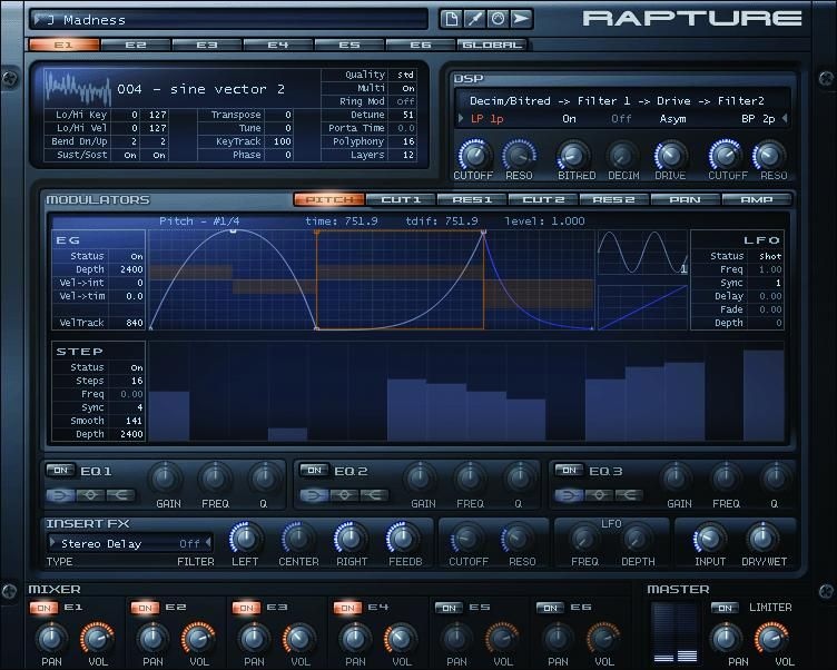 Cakewalk Rapture Virtual Synth In 2019 Music Industry