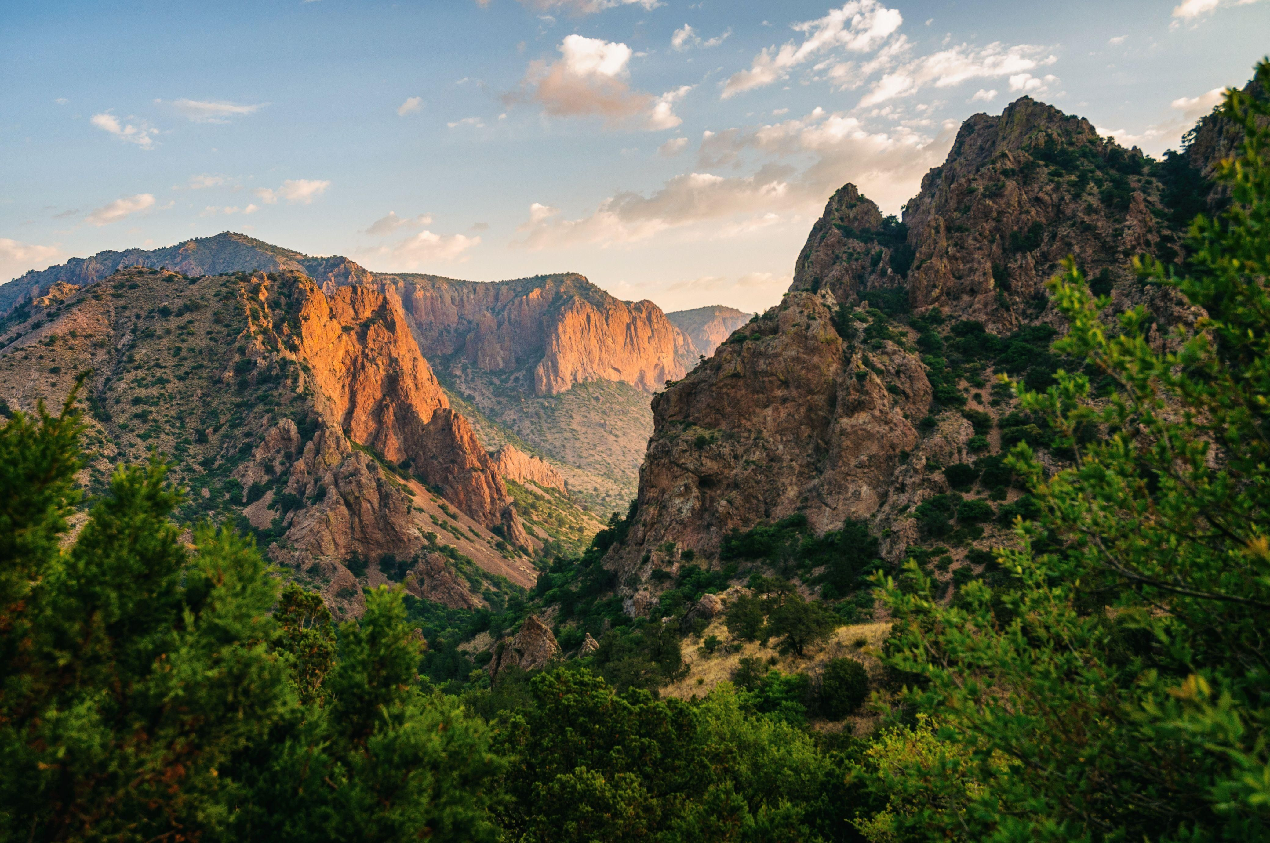 The Chisos Mountains Of Big Bend National Park In Texas Oc