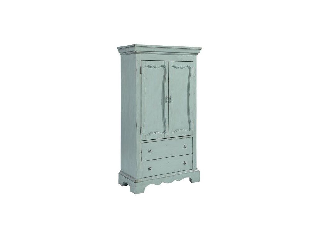 Magnolia Home Bedroom French Blue Armoire Bed Arm Frenchblue Bob