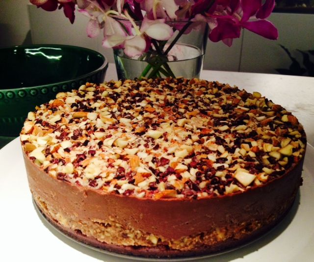 Raw Salted Caramel Almond Cake Powered By The Health Emporium