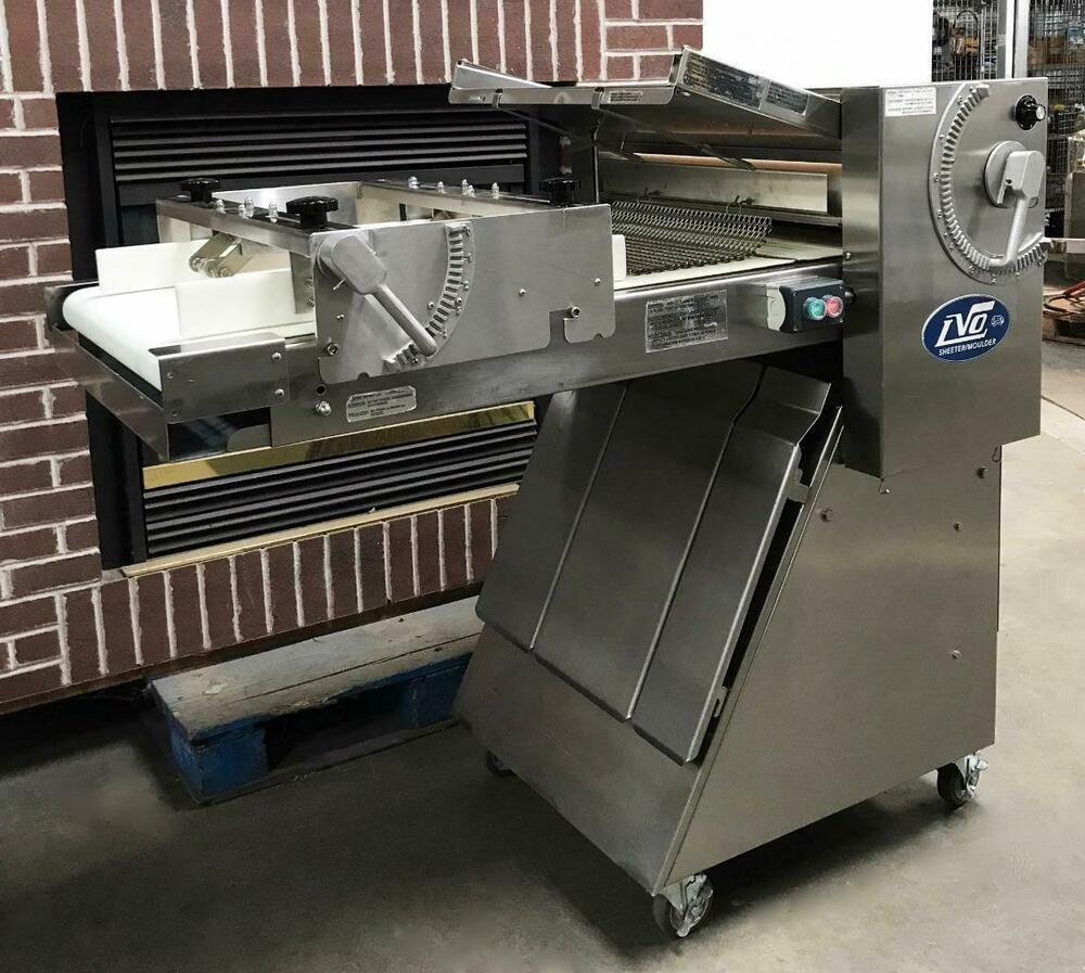 Lvo Sm24 Bakery Restaurant Kitchen Equipment Dough Sheeter Roller