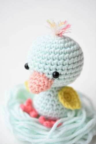 Little friendly duck | Pinterest | Tier und Häkeln