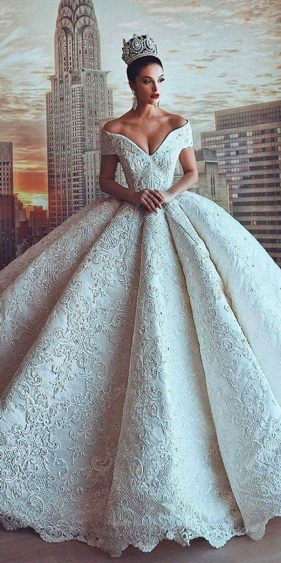 71 Elegant White Wedding Dresses 2018-2019  f8352ca14aba4