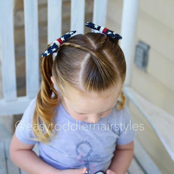 """Little Girl Hairstyle Youtube: Tiffany ️ Hair For Toddlers On Instagram: """"Friday Tutorial"""