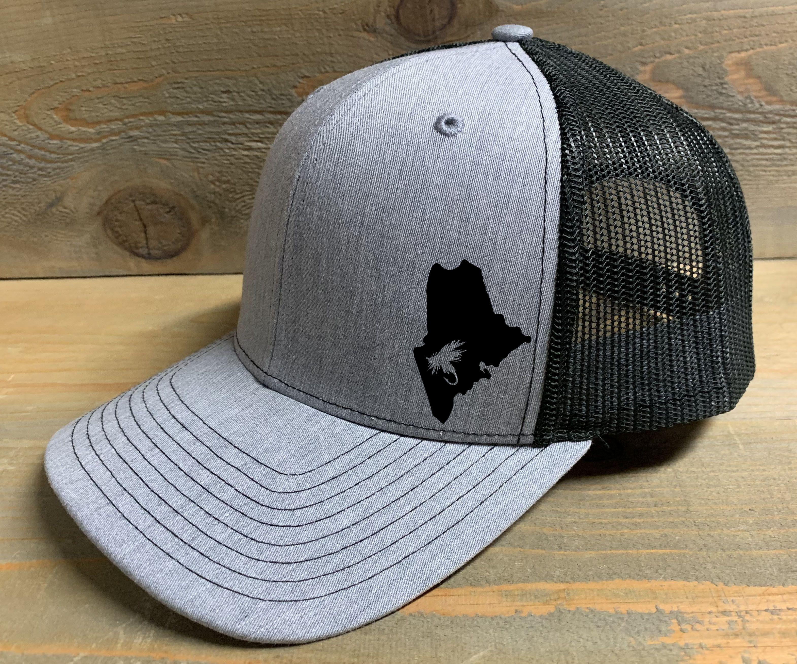 Maine Fly Fishing Trucker Hat Trucker Hat Trucker Richardson 112