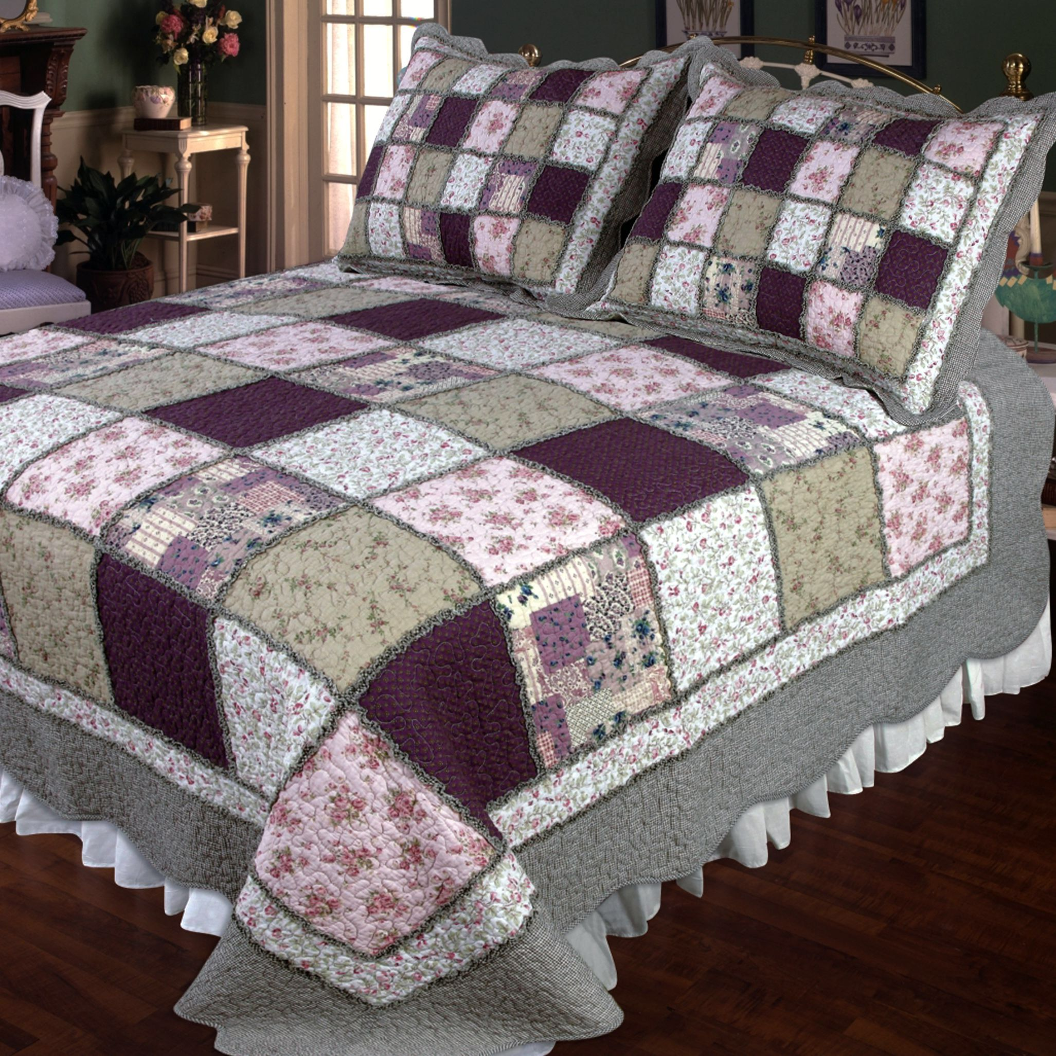 Features: -Sugar Plum collection. -Material: Cotton fabrics ... : filling for quilts - Adamdwight.com