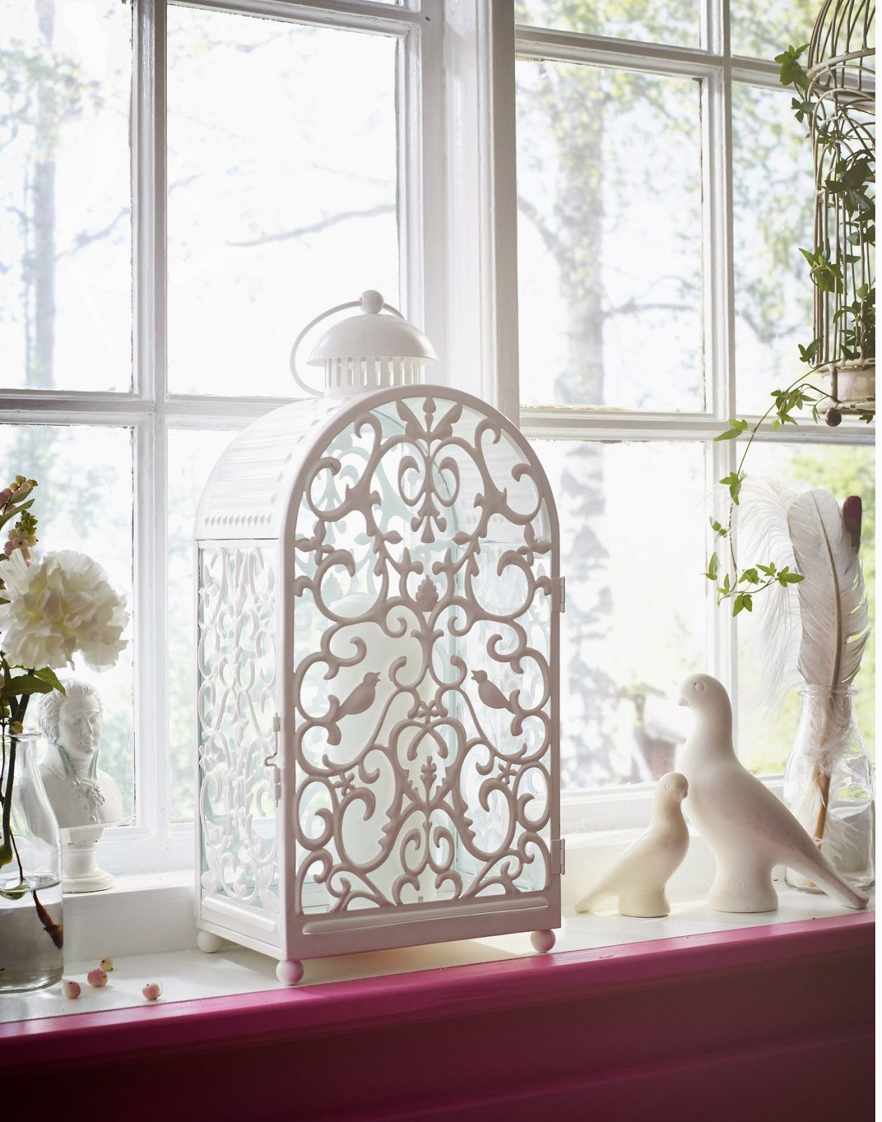 Photophore blanc, intemporel