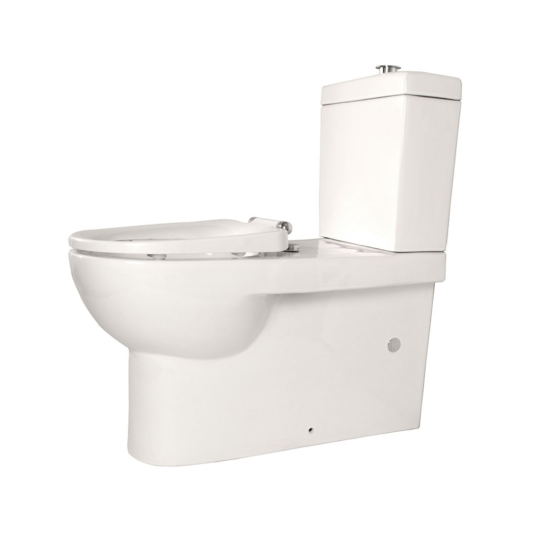 Linkcare White Assisted Living Toilet Suite #Linkware #Disabled #Assisted  #Backrest #Toiletsuite