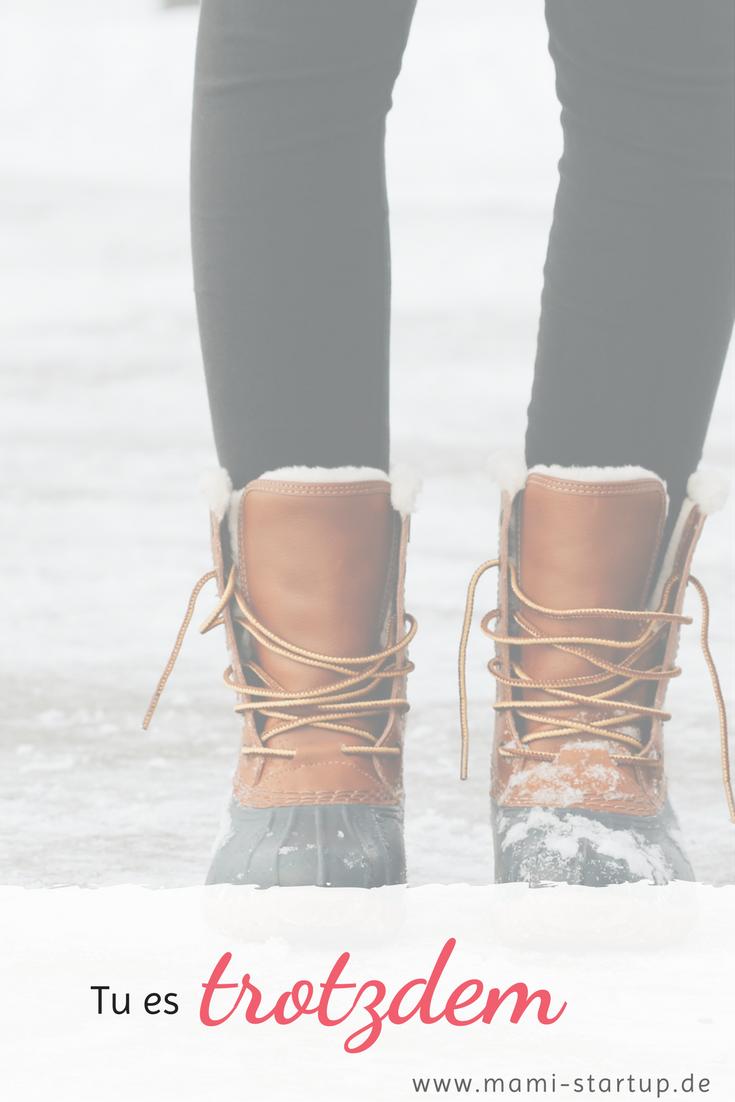 kalte füße kriegen
