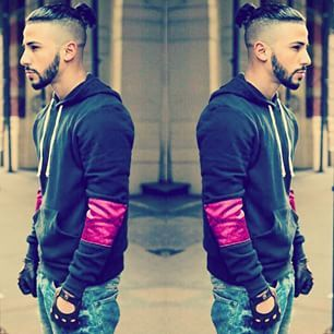 Adam saleh black and white dresses
