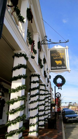 Step back in time at the Golden Lamb in Lebanon, OH! Try the