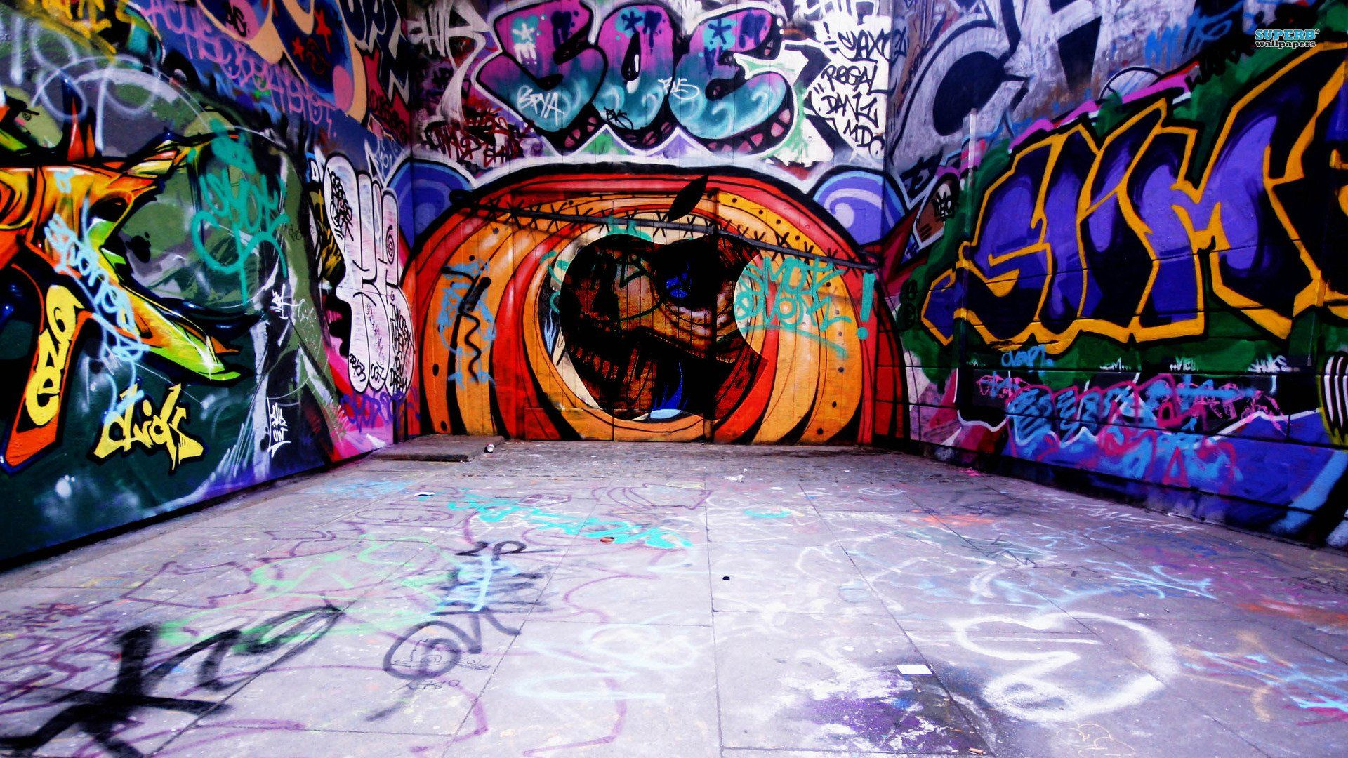 Cool Background Graffiti Hip Hop Wallpaper Desktop HD x
