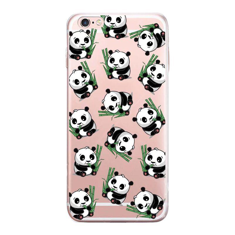 iphone 6 case silicone panda
