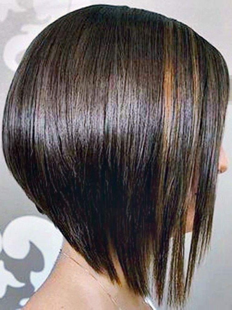 Long Inverted Bob Hairstyles For Round Face Long Inverted Bob Hairstyles Hair Styles Thin Fine Hair Inverted Bob Hairstyles