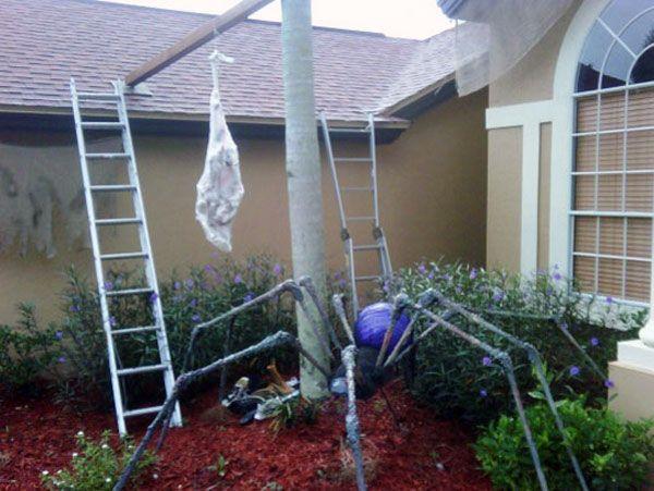 PVC Pipe Spider ideas using pvc Pinterest Halloween, Pvc pipe