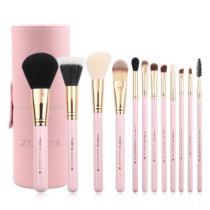 12pc As Morphe Set Pink Eye Brushes Blending Set Eyeliner Eyebrush Eyeshadow Makeup Mak Makeup Brush Set Cosmetic Brush Set Makeup Brush Set Professional