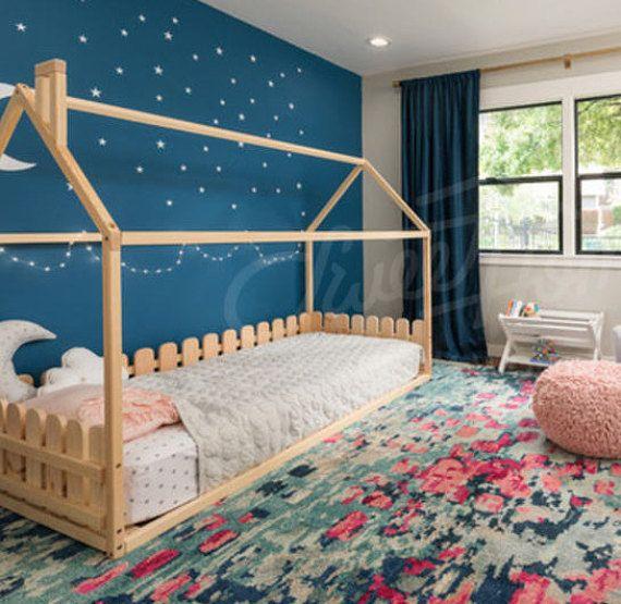 Children bed toddler bed or house bed en 2019 ambiance habitaci n decorada recamara et muebles - Berceau ou lit pour nouveau ne ...