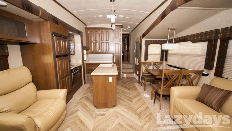 Cruise the country in the 2016 #ForestRiver Cedar Creek Silverback #RV for sale in #Tucson.