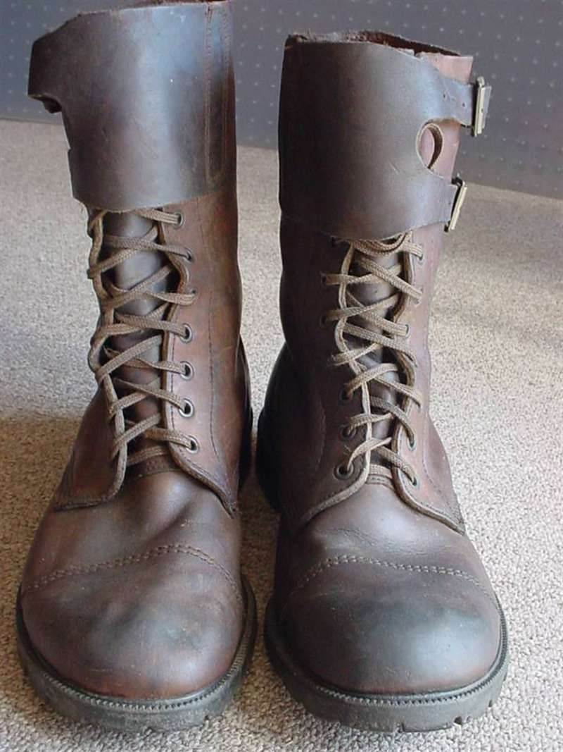 Rhodesian Army and British South Africa Police combat boots ...
