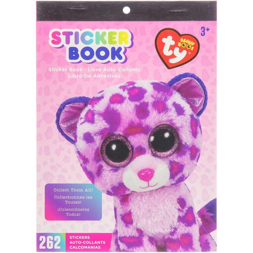 Darice TY Beanie Boo Slush Husky Sticker Book