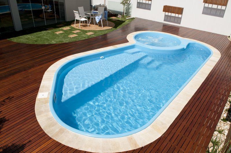 Piscina de fibra pesquisa google piscinas e quintal - Jacuzzi piscina exterior ...