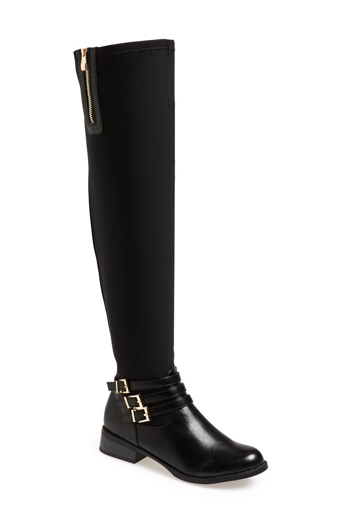 N.Y.L.A. 'Bethanie' Over the Knee Boot (Women) $89