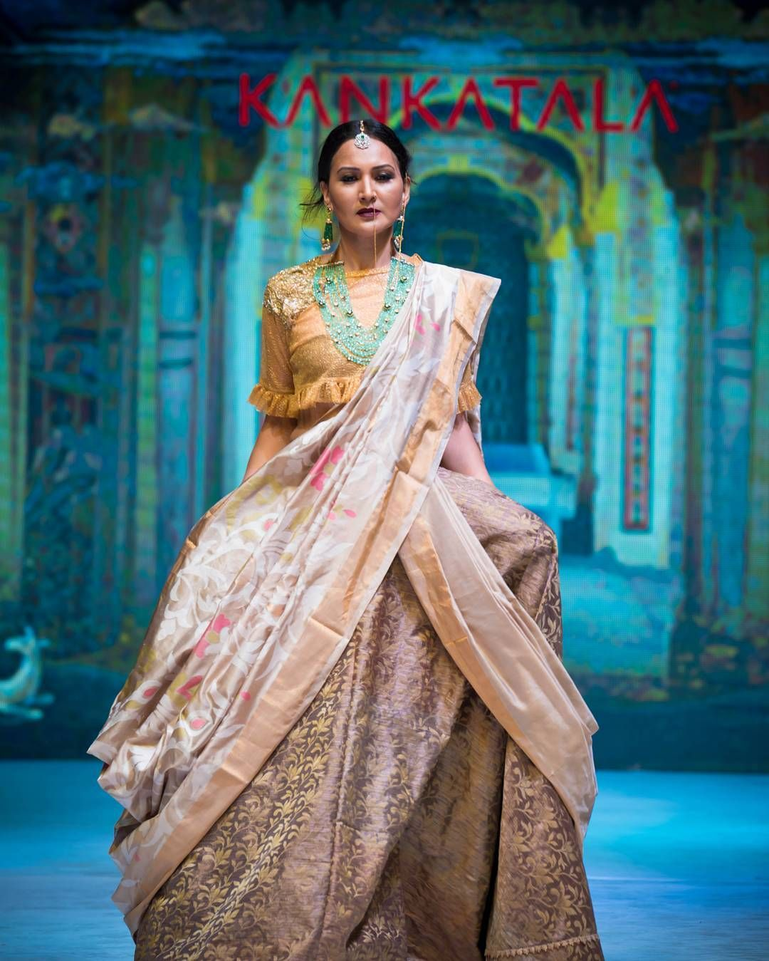 09337c0a6b Check Out Trendy Silk Saree Designs From Kankatala • Keep Me Stylish