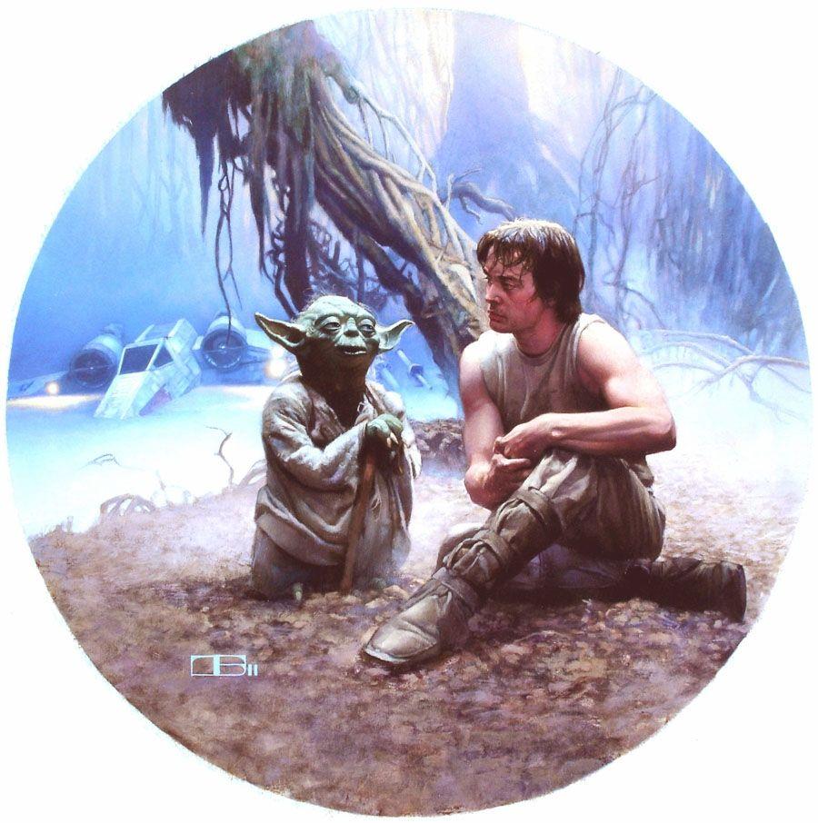 Yoda & Luke Plate.jpg (900×906)