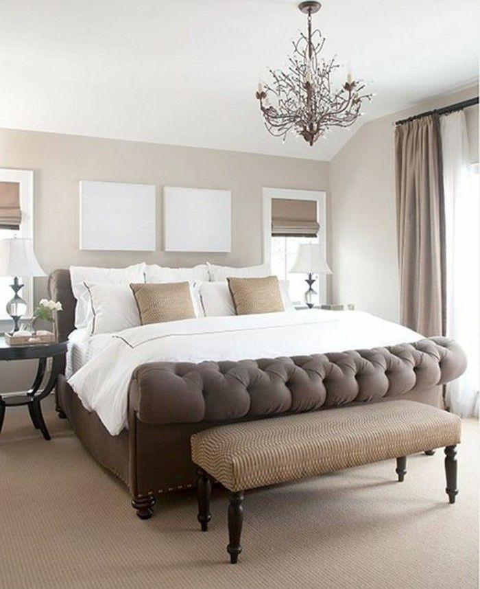 Quelle couleur pour une chambre à coucher?   Design chambre ...
