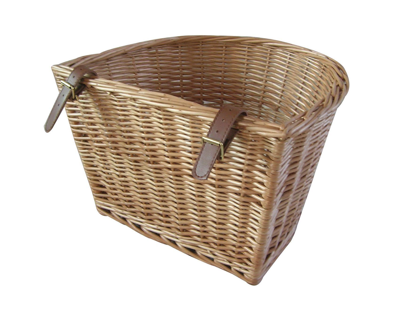 Wicker Valley Willow Bicycle Basket | Cestas para la bici ...