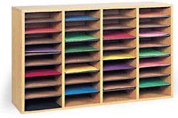 Construction Paper Storage/Organizer - 36 Compartments ~ Paper Storage