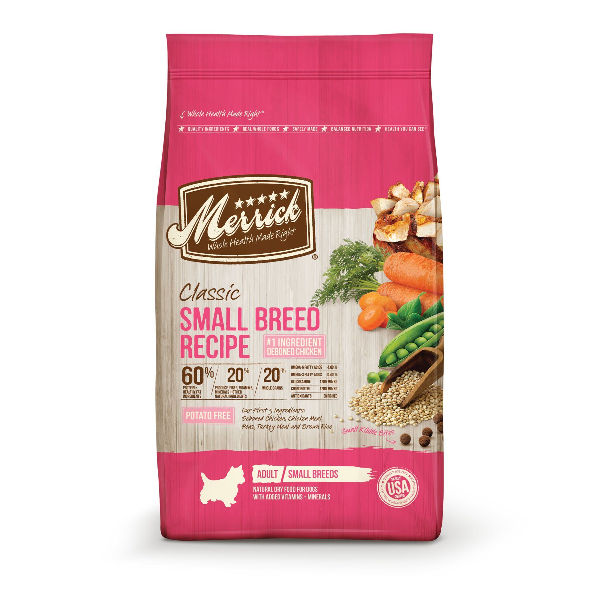 Merrick Classic Healthy Grains Small Breed Recipe Dry Dog