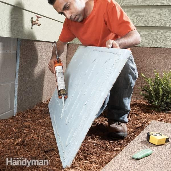 Foundation Insulation Panels Rigid Insulation Insulation And - Insulating exterior walls in old homes