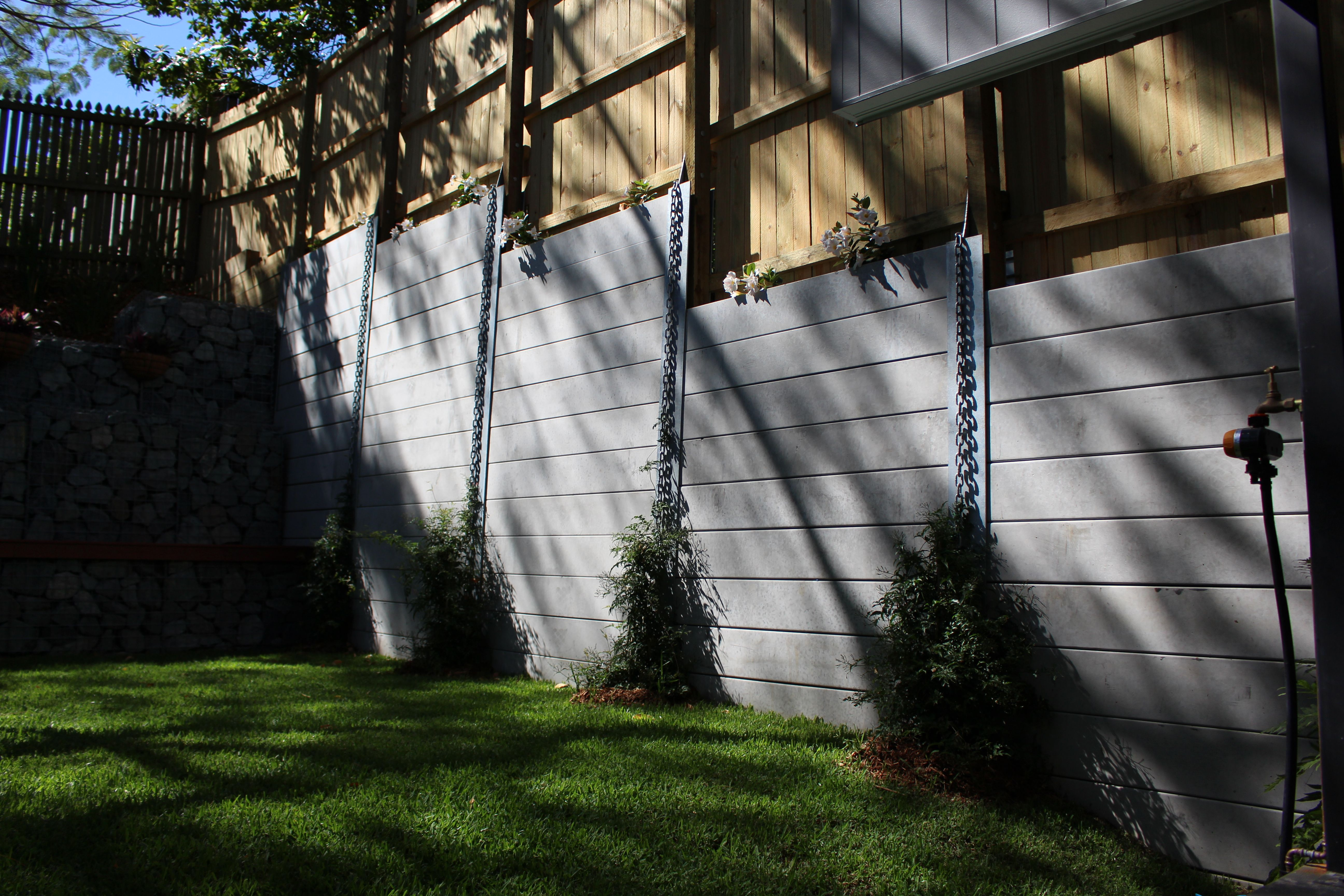 Pioneer Smooth Grey Concrete Sleeper Retaining Wall Call Today For A Quote On Supply Or Sleeper Retaining Wall Concrete Sleeper Retaining Walls Retaining Wall