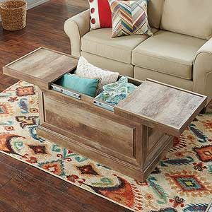 11 storage must-haves you can use in any room | coffee table with
