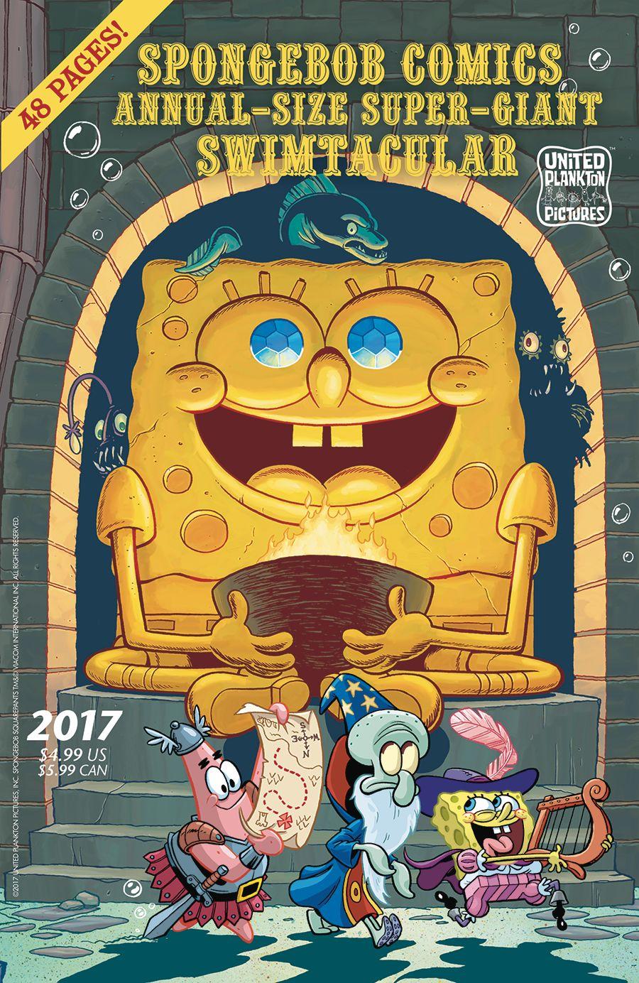 spongebob comics annual 2017 united plankton pictures