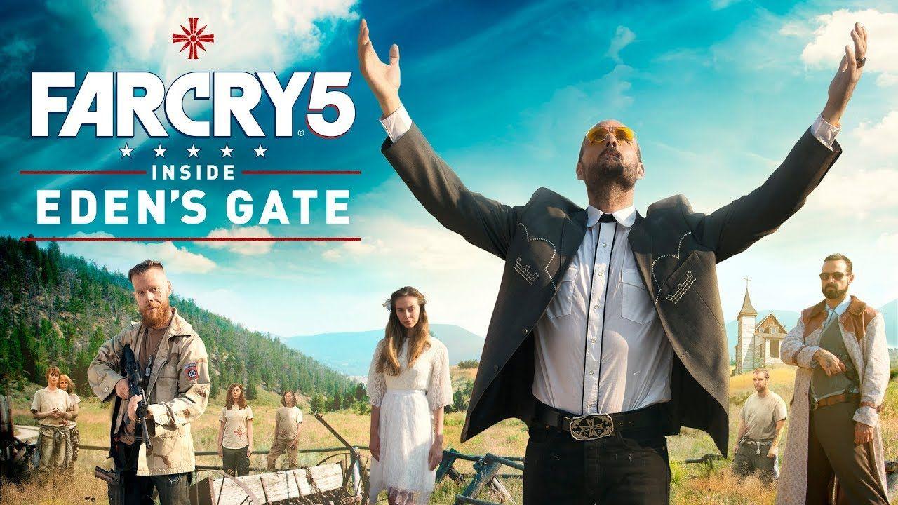 《極地戰嚎5》完整真人電影公佈 潛入恐怖伊甸門 Game Pinterest Far cry 5