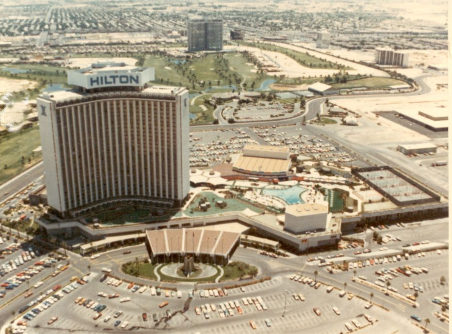 1975 Las Vegas Strip Flyover Pt See Part A Resort Proposal Created In October Included Aerial Photos By Julius Shulman Of All Existing Resorts On