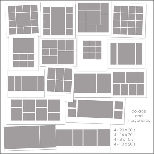 Use these templates to organize your frames onto the wall ) Just - photography storyboard sample
