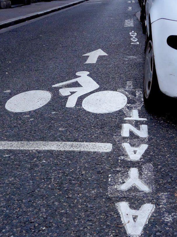 Lyon, street, bike