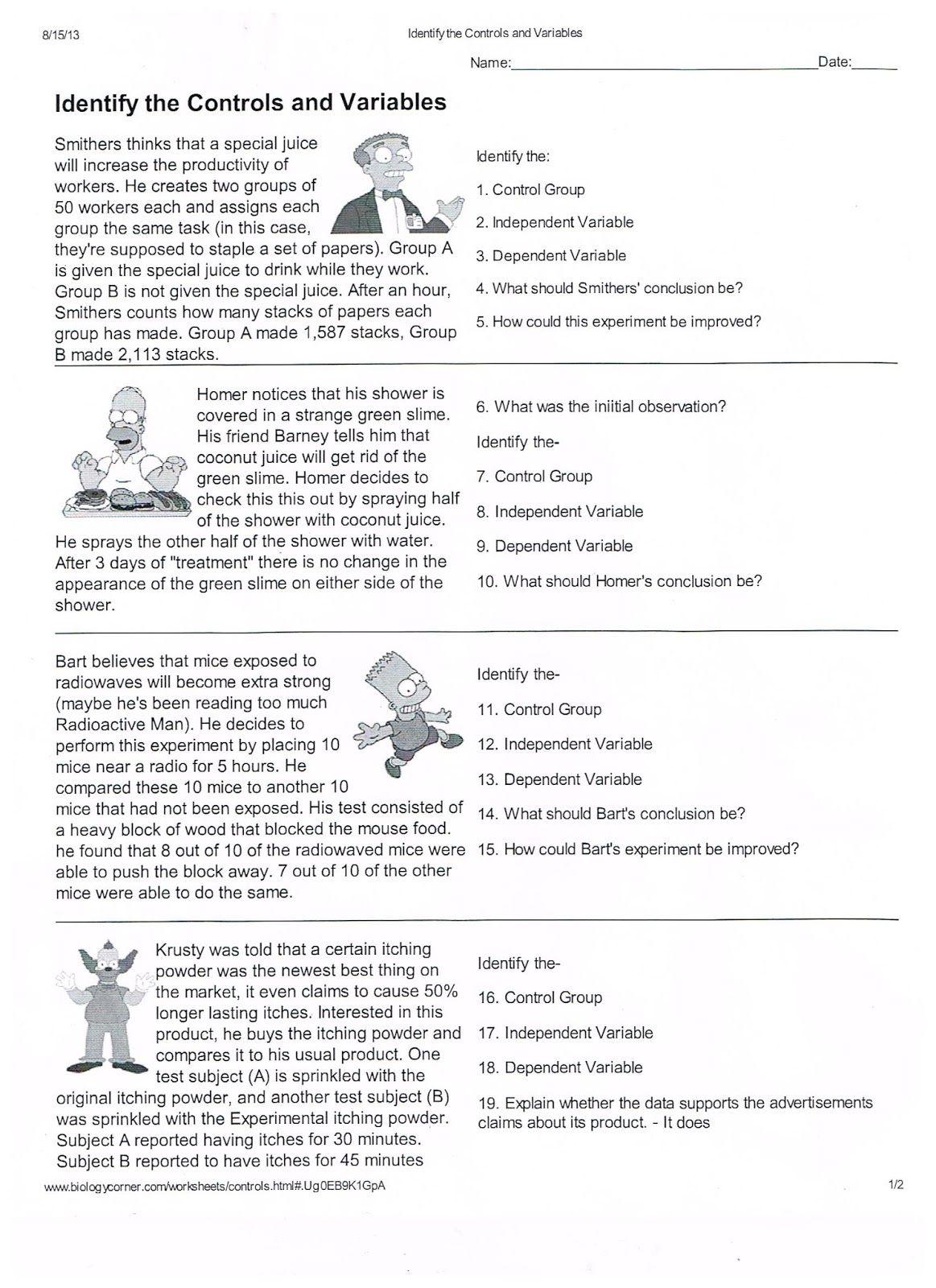 Scientific Method Worksheets Pdf Worksheet Examples Scientific Method Worksheet Science Worksheets Scientific Method