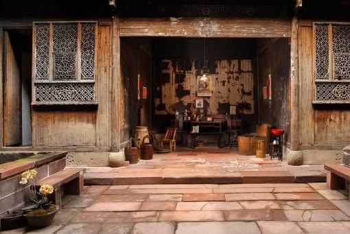 Old Style Chinese Home Traditional Chinese House China