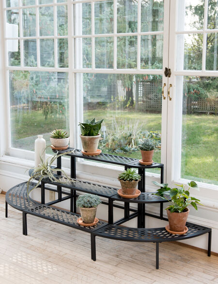 Lattice Inside Plant Stand Set | Gardener's Supply