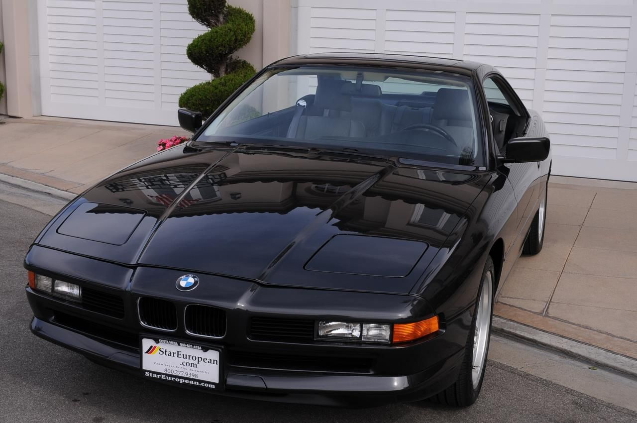 """1993 BMW 850Ci V12 """"Not So Old"""" Sports Cars Bmw cars"""