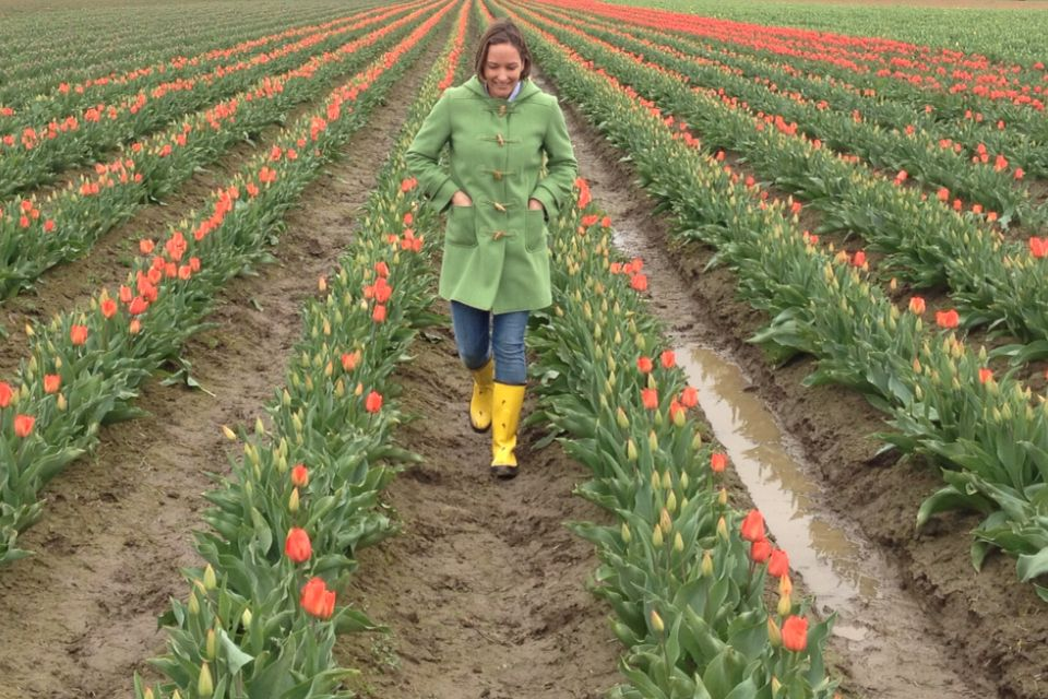 Jenny at Skagit Valley, WA in the spring of 2014.