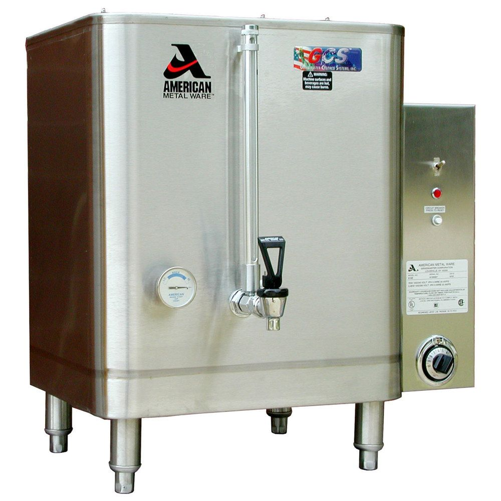 Grindmaster 815 E 15 Gallon Heavy Duty Hot Water Boiler Water Boiler Hot Water Hot Water Dispensers