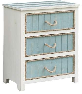 Highland Dunes Harrill 3 Drawer Accent Chest | Wayfair