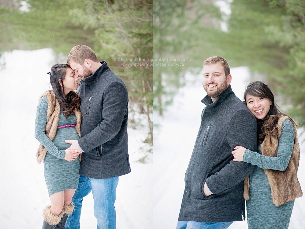 125c2f7f3458b Maternity session in the snow by Little Lamb Photography. #maternity # pregnancy #winter #snow #maternityphotos #ottawa #gatineau