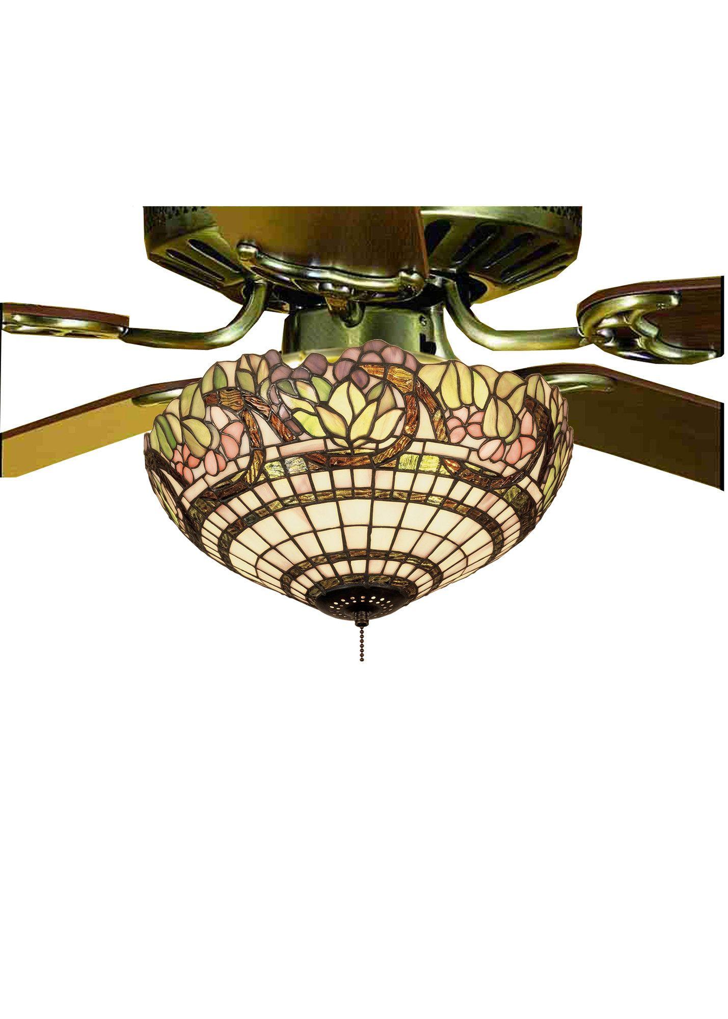 Handel Grapevine 3 Light Bowl Ceiling Fan Light Fixture