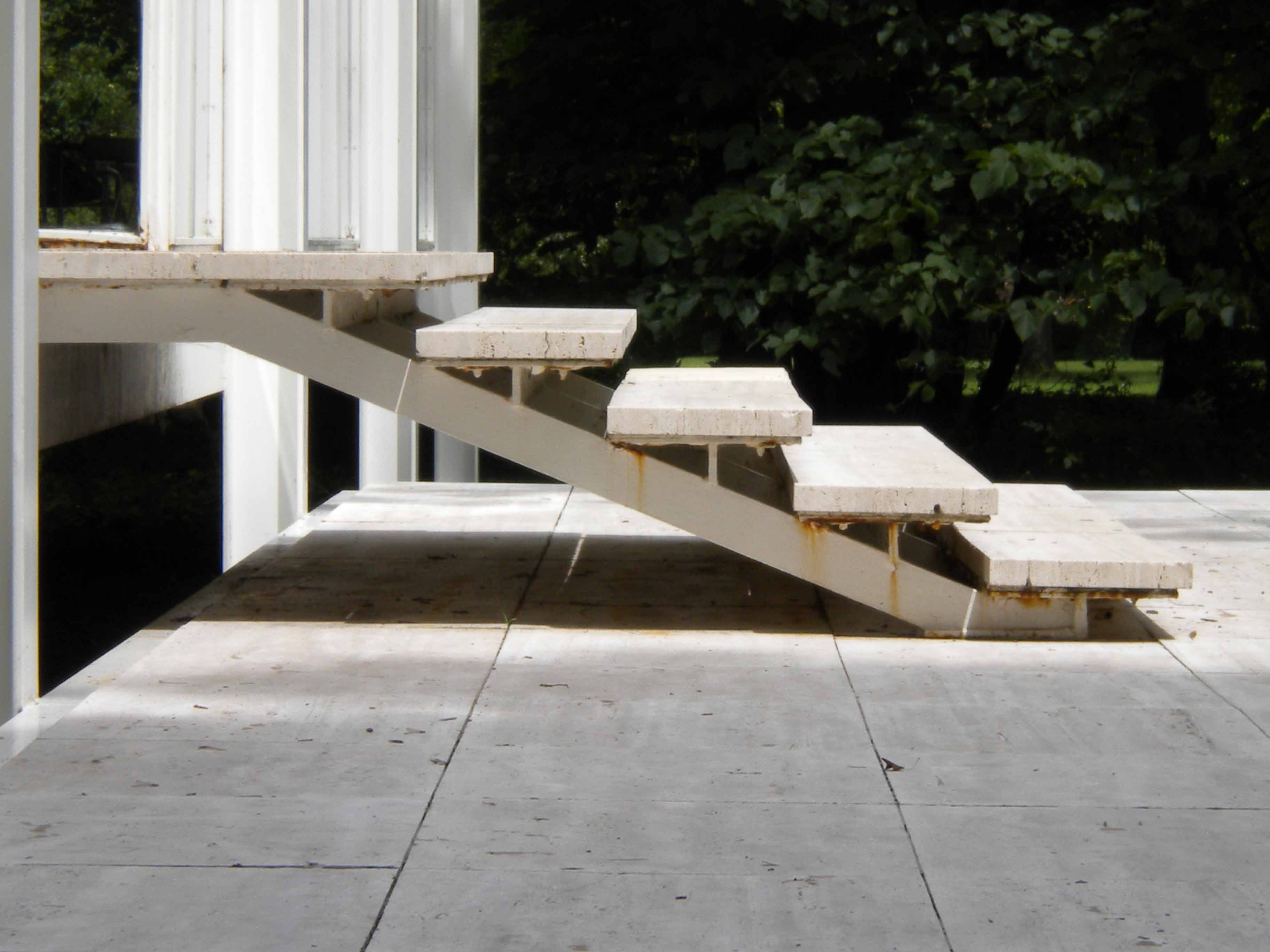 Farnsworth house by mies van der rohe exterior 8 jpg - To Drool Over The Farnsworth House Designed By Ludwig Mies Van Der Rohe Between I Have Family In Chicago